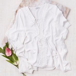 Bindya Lace-Up Cover-Up